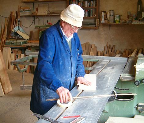 Capra Ettore capostipite della falegnameria