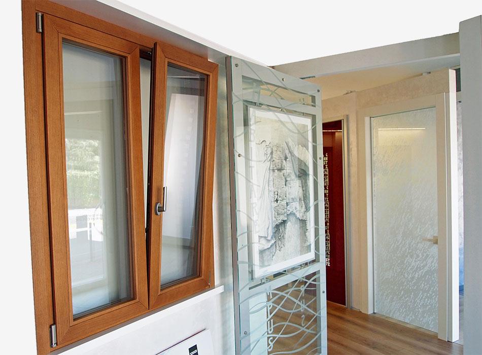 finestre PVC legno alluminio Verona