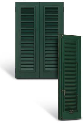 scuri persiane alluminio pvc legno Verona