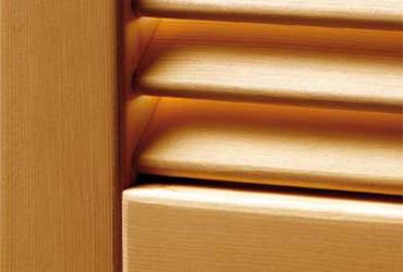 scuri persiane legno alluminio ante classiche libro lamelle fisse mobili Verona Mantova Lago di Garda